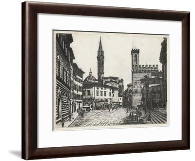 Scenes in Firenze II-Unknown-Framed Giclee Print