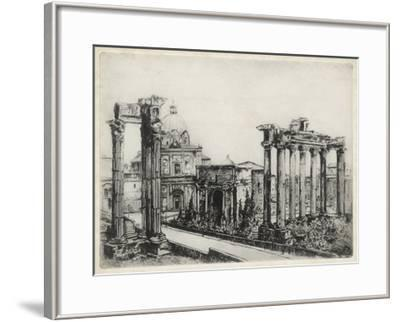 Scenes in Roma-Unknown-Framed Giclee Print