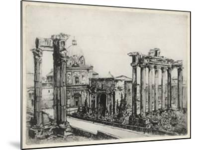 Scenes in Roma-Unknown-Mounted Giclee Print