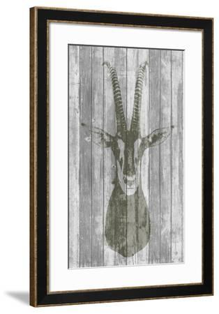 Rustic Bust I-Jennifer Goldberger-Framed Art Print