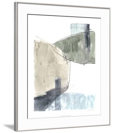 Verdant Divide II-Jennifer Goldberger-Framed Limited Edition