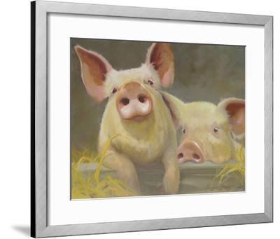 Life as a Pig II-Carolyne Hawley-Framed Art Print