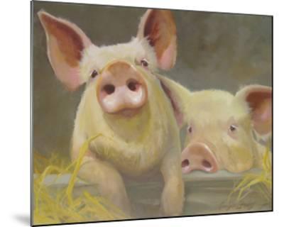 Life as a Pig II-Carolyne Hawley-Mounted Art Print