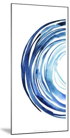 Blue Vortex I-Grace Popp-Mounted Art Print