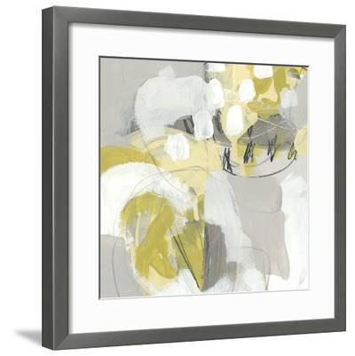 Citron Mist III-June Erica Vess-Framed Giclee Print