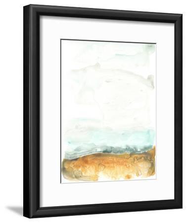 Flowing Sand Bar II-June Erica Vess-Framed Art Print