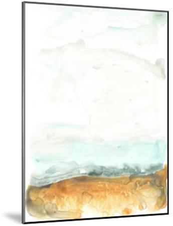 Flowing Sand Bar II-June Erica Vess-Mounted Art Print