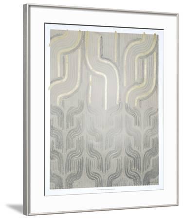 Chenille II-Vanna Lam-Framed Art Print