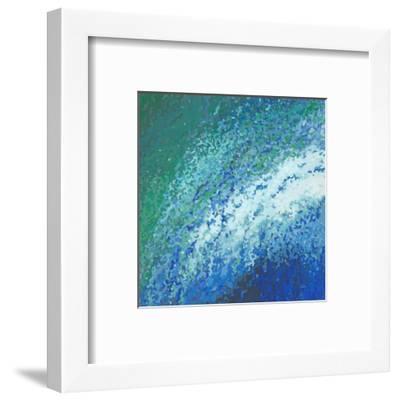 Ocean City Surf-Margaret Juul-Framed Art Print