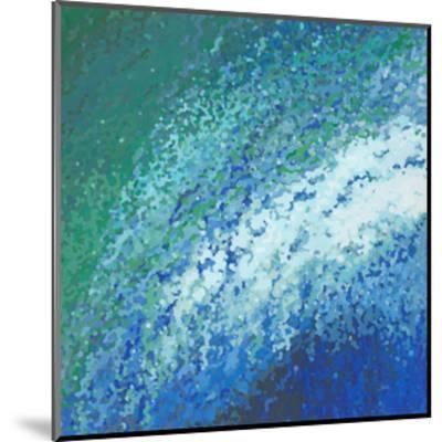 Ocean City Surf-Margaret Juul-Mounted Art Print