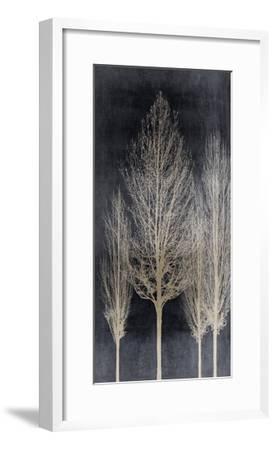 Silver Tree Silhoutte II-Kate Bennett-Framed Giclee Print