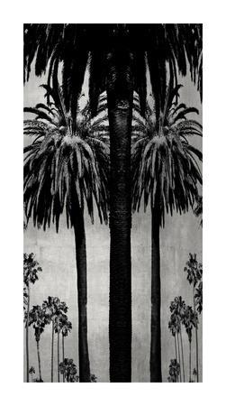 Palms with Silver II-Kate Bennett-Framed Giclee Print