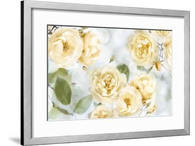 Yellow Rose Garden III-Joanna Lane-Framed Giclee Print