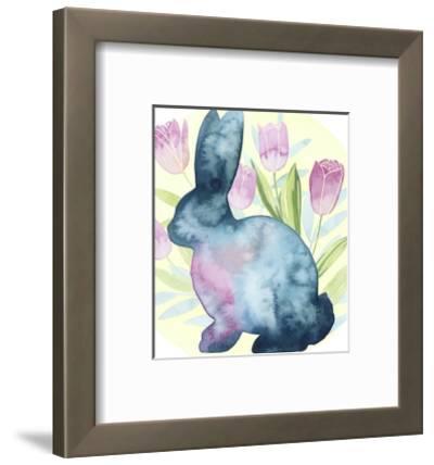 Tulip Easter I-Grace Popp-Framed Art Print