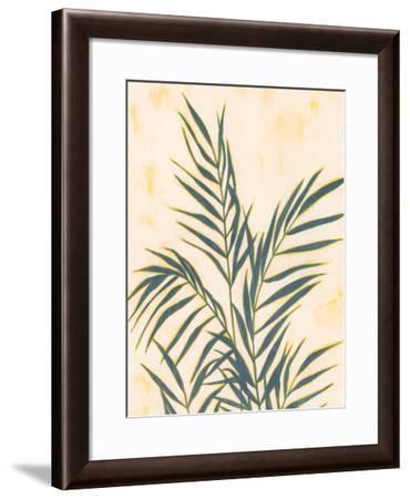 Sunset Fronds II-Grace Popp-Framed Art Print