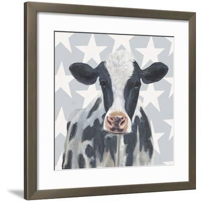 Patriotic Farm II-Victoria Borges-Framed Art Print
