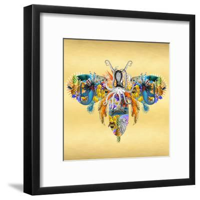 Fantasy World - Bee-Amy Shaw-Framed Giclee Print