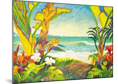 Time to Chill - Tropical Beach Paradise - Hawaii - Hawaiian Islands-Robin Wethe Altman-Mounted Premium Giclee Print