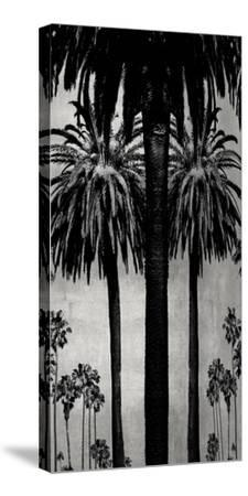 Palms with Silver II-Kate Bennett-Stretched Canvas Print