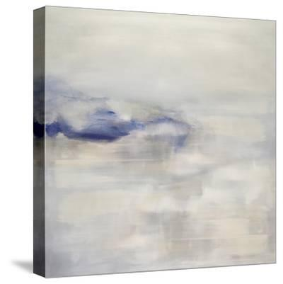 Tranquil with Blue-Rachel Springer-Stretched Canvas Print