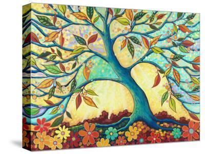 Tree Splendor I-Peggy Davis-Stretched Canvas Print