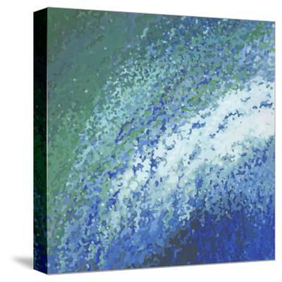 Ocean City Surf-Margaret Juul-Stretched Canvas Print