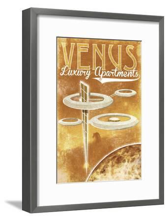 Venus Luxury Apartments-Lynx Art Collection-Framed Art Print