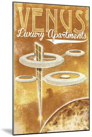 Venus Luxury Apartments-Lynx Art Collection-Mounted Art Print