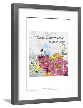 Bloom & Fly I-Catherine McGuire-Framed Art Print