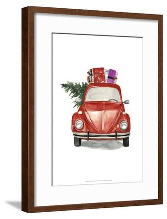 Christmas Cars I Art Print by Jennifer Paxton Parker | Art.com