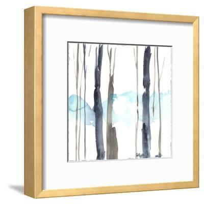 Snow Line IV-Jennifer Goldberger-Framed Premium Giclee Print