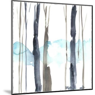 Snow Line IV-Jennifer Goldberger-Mounted Premium Giclee Print