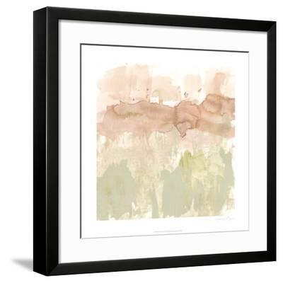 Dusty Blush & Olive II-Jennifer Goldberger-Framed Limited Edition