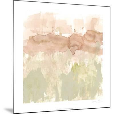 Dusty Blush & Olive II-Jennifer Goldberger-Mounted Limited Edition