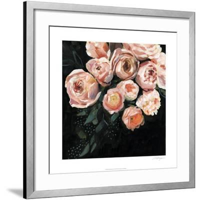 Peachy Blooms II-Victoria Borges-Framed Limited Edition