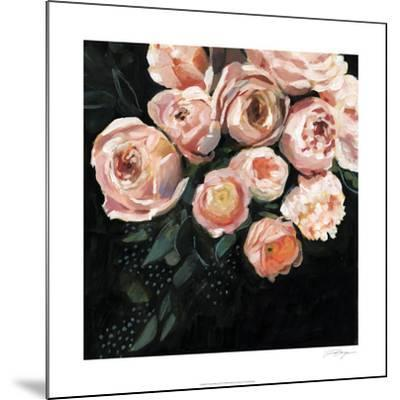 Peachy Blooms II-Victoria Borges-Mounted Limited Edition