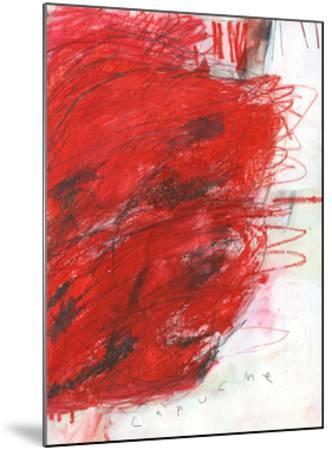 Capucine-Alison Black-Mounted Giclee Print
