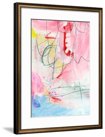 Triptych 3B-Alison Black-Framed Giclee Print