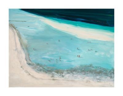Beach Scene-Don Almquist-Framed Giclee Print