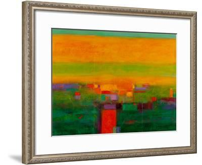 Landscape in Full Color-Gary Max Collins-Framed Giclee Print