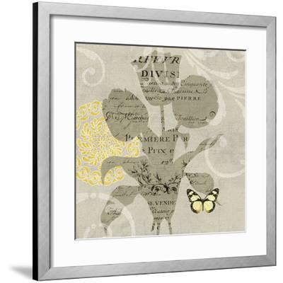 Mod Yellow 7-Suzanne Nicoll-Framed Giclee Print