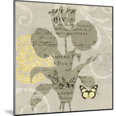 Mod Yellow 7-Suzanne Nicoll-Mounted Giclee Print