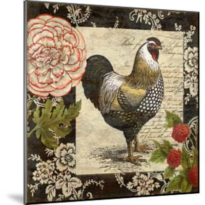 French Rooster I-Suzanne Nicoll-Mounted Giclee Print