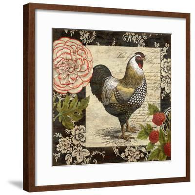French Rooster I-Suzanne Nicoll-Framed Giclee Print