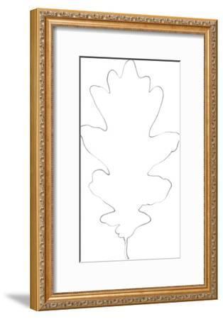 Garden Medley - Oak-Lucy Francis-Framed Giclee Print