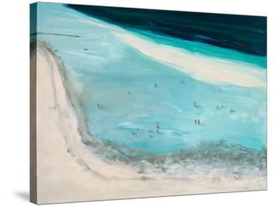 Beach Scene-Don Almquist-Stretched Canvas Print