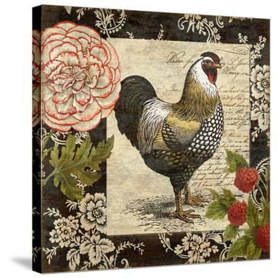 French Rooster I-Suzanne Nicoll-Stretched Canvas Print
