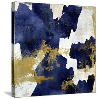 Indigo Slash I-Suzanne Nicoll-Stretched Canvas Print