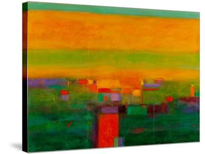 Landscape in Full Color-Gary Max Collins-Stretched Canvas Print