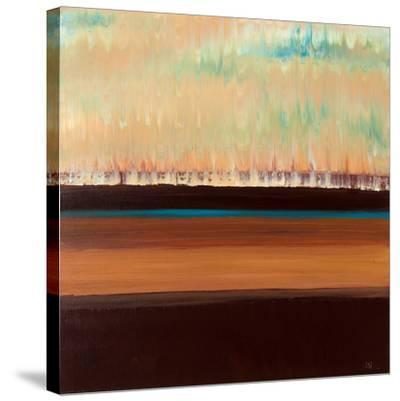 River Sunset-Jodi Steen-Stretched Canvas Print